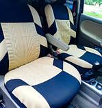 Накидки на сидіння авто чохли універсальні Автонакидки на сидіння в салон машини авто-майки, фото 6