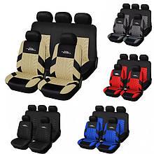Накидки на сиденья авто чехлы универсальные Автонакидки на сидіння в салон машини авто-майки