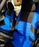 Накидки на сиденья авто чехлы универсальные Автонакидки на сидіння в салон машини авто-майки, фото 5