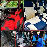 Накидки на сидіння авто чохли універсальні Автонакидки на сидіння в салон машини авто-майки, фото 2