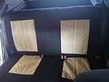 Накидки на сидіння авто чохли універсальні Автонакидки на сидіння в салон машини авто-майки, фото 8