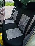 Накидки на сиденья авто чехлы универсальные Автонакидки на сидіння в салон машини авто-майки, фото 9