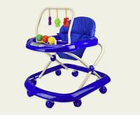Ходунки детские BW0115 С подвесками синий HN