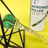 Мезороллер безшовный 2мм MT Microneedle Roller 192 иглы в тубусе, медицинская сталь, фото 2