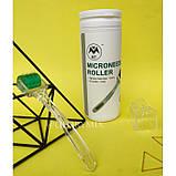 Мезороллер безшовный 2мм MT Microneedle Roller 192 иглы в тубусе, медицинская сталь, фото 3