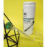 Мезороллер безшовный 2мм MT Microneedle Roller 192 иглы в тубусе, медицинская сталь, фото 5