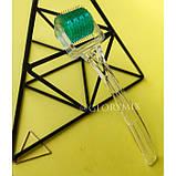 Мезороллер безшовный 2мм MT Microneedle Roller 192 иглы в тубусе, медицинская сталь, фото 6