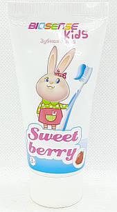 "Зубная паста детская ""Sweet berry"", 50 мл/ ""Biosense""/ ""Биотон"""