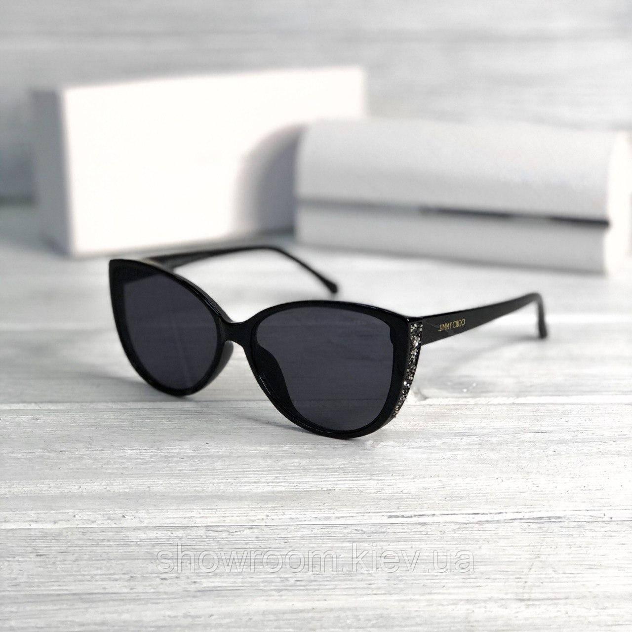 Женские брендовые солнечные очки (2619) black