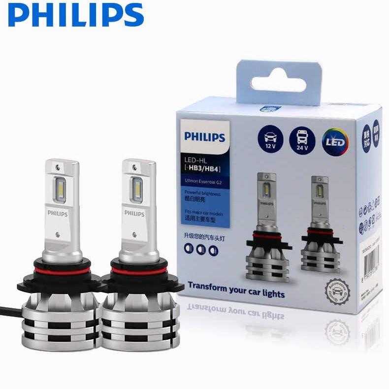 Комплект диодных ламп PHILIPS 11005UE2X2 HB3/HB4 24W 12-24V Ultinon Essential G2 6500K