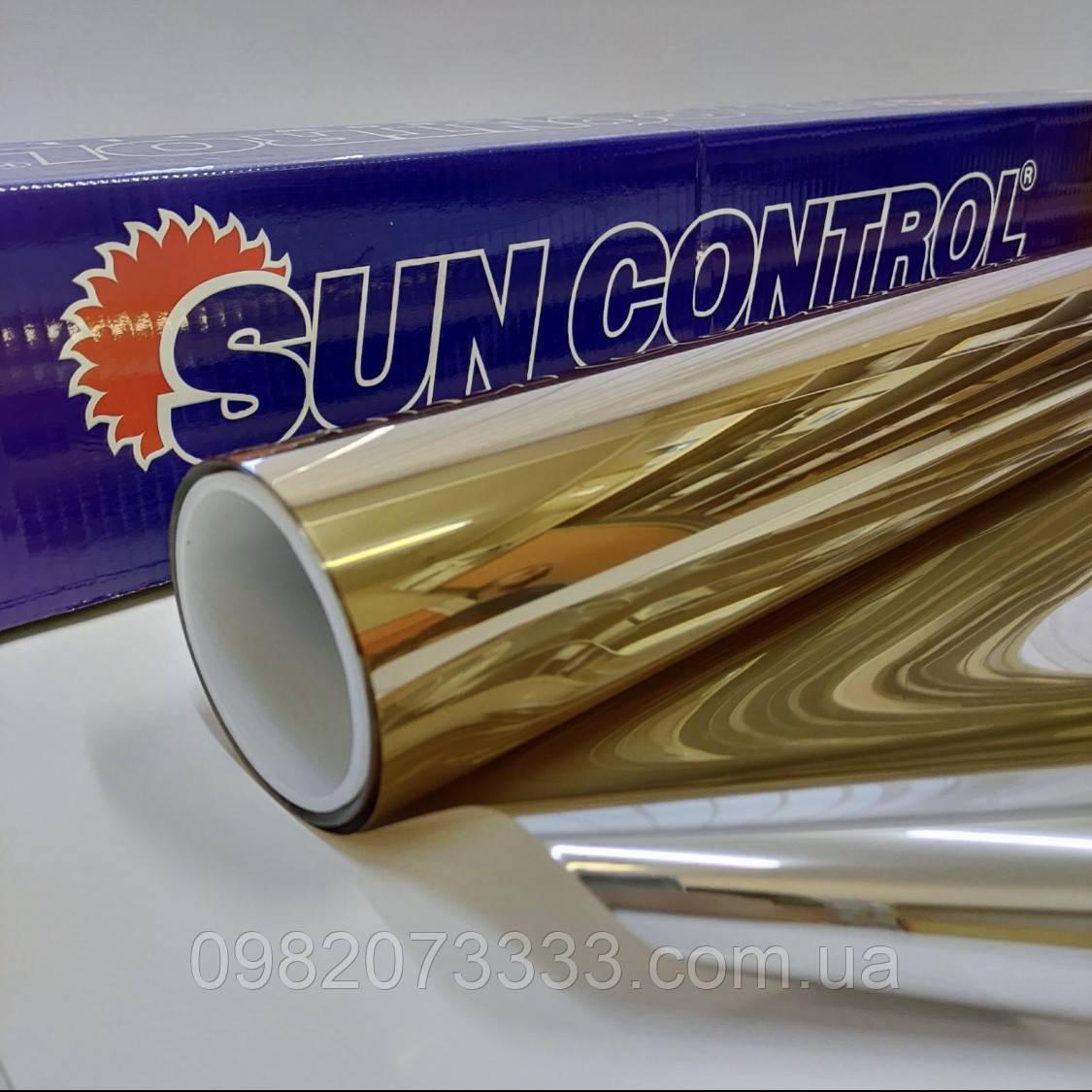 Солнцезащитная R Gold 15 Sun Control зеркальная плёнка для тонировки стекла ширина рулона 1,524 (цена за кв.м)