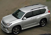 Тюнинг Toyota Prado 150 накладки на пороги Jaos стиль