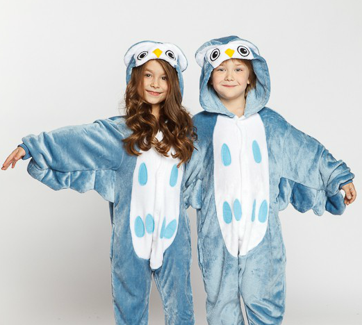 Піжама кигуруми для дітей Сова Funny Mood