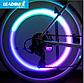Світлодіодна підсвітка на колесо велосипеда. Світлодіодний маячок на спиці велосипеда, фото 5