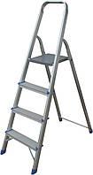 Лестница алюминиевая Кентавр 4С 16151 + Бесплатная доставка!!!