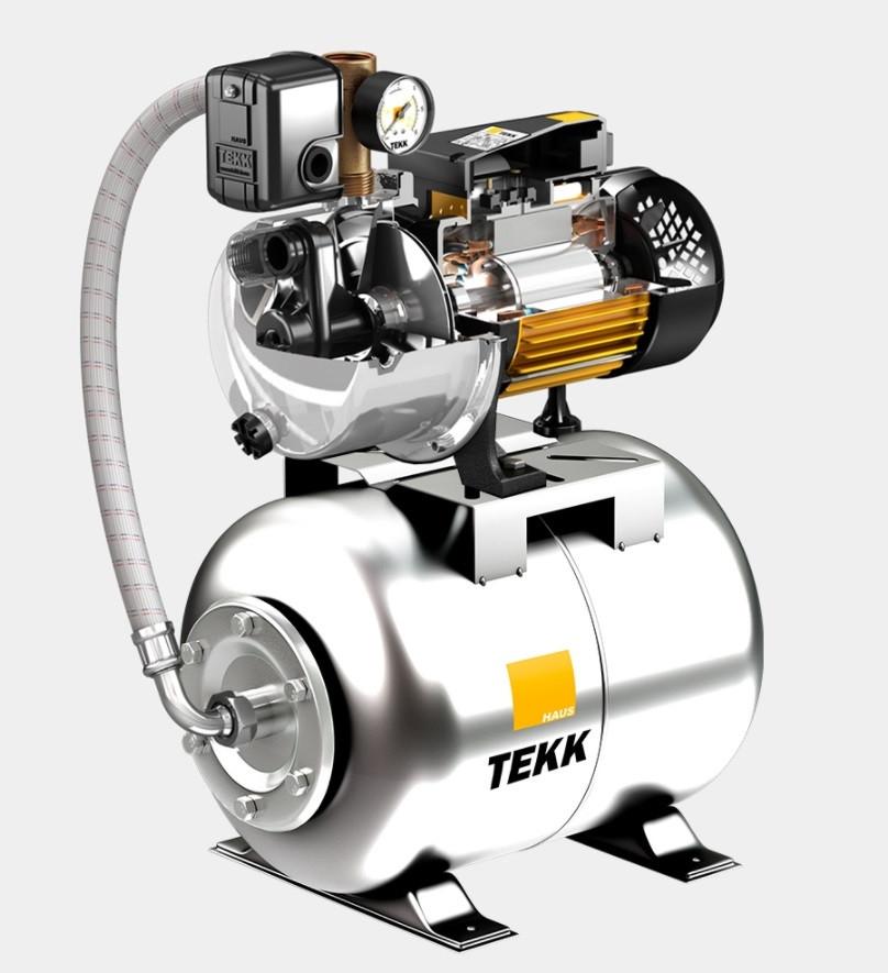 Насосна станція Tekk Haus BS 1100 Inox 24L Inox