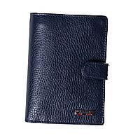 Мужской кошелек кожаный синий BUTUN 186-004-034, фото 1
