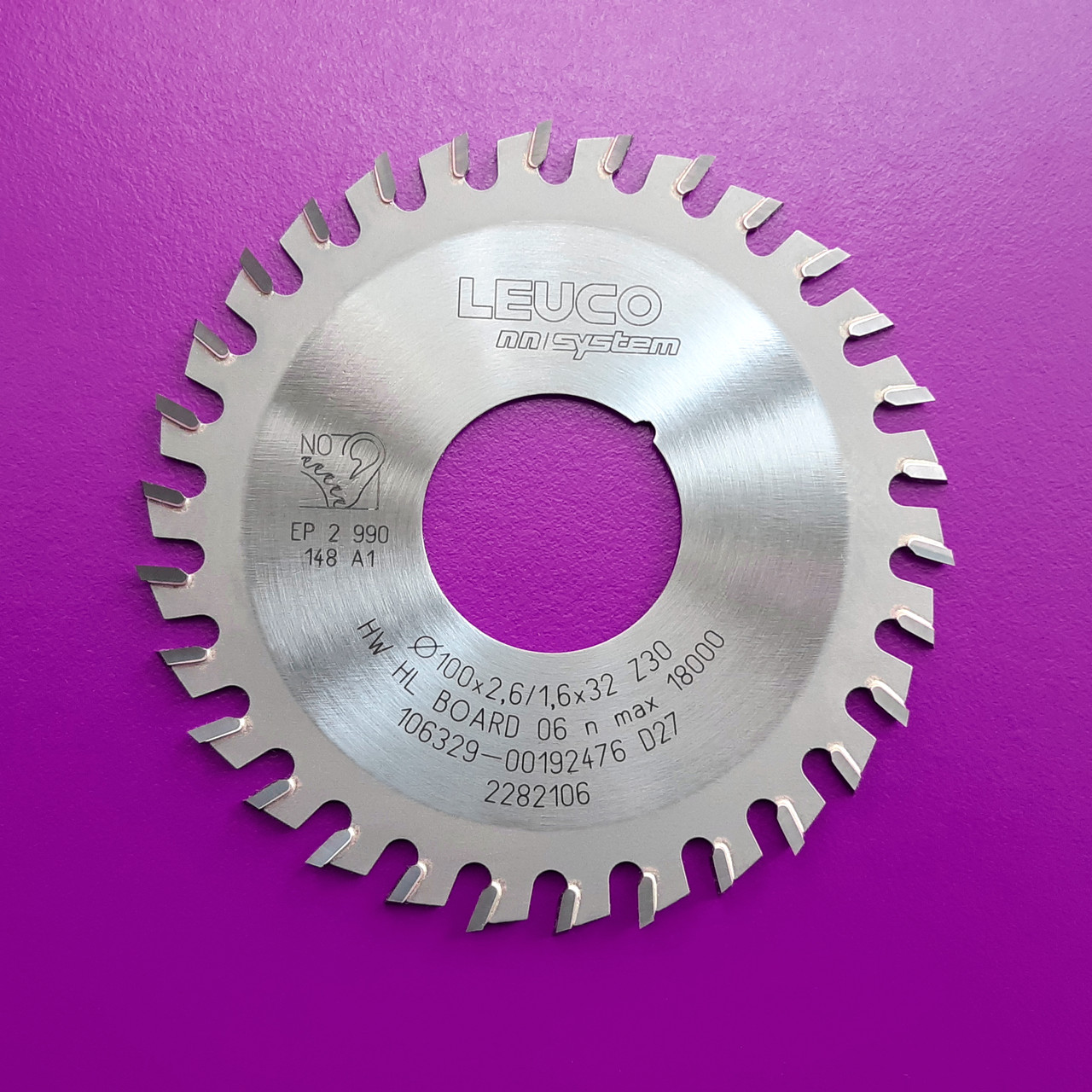 100x2,6x1,6x32 z=30 Торцевые дисковые пилы Leuco nn-System для обработки кромок (Brandt)