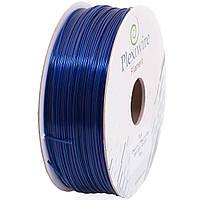 PLA пластик для 3D принтера 1,75мм (400м /1,185кг) синий