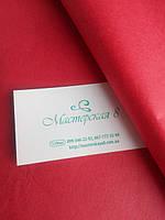 Тишью красная 50*65 см , бумага папирусная для помпонов и декора, уценка