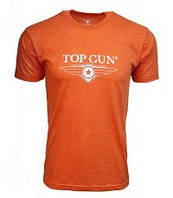 Футболка Top Gun Ultra-Soft Logo Tee TGM2007 (Orange)