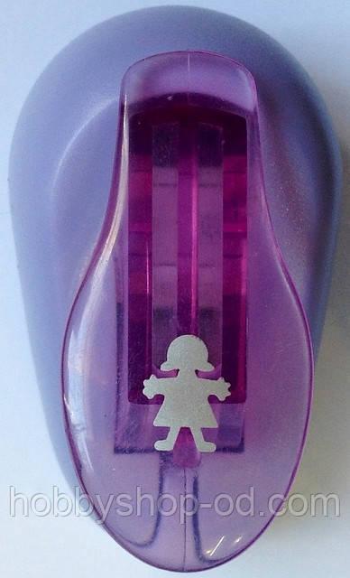 Діркопробивач Дівчинка 1 см важіль