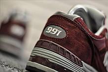 """Кроссовки New Balance 991 Suede """"Бордовые"""", фото 2"""