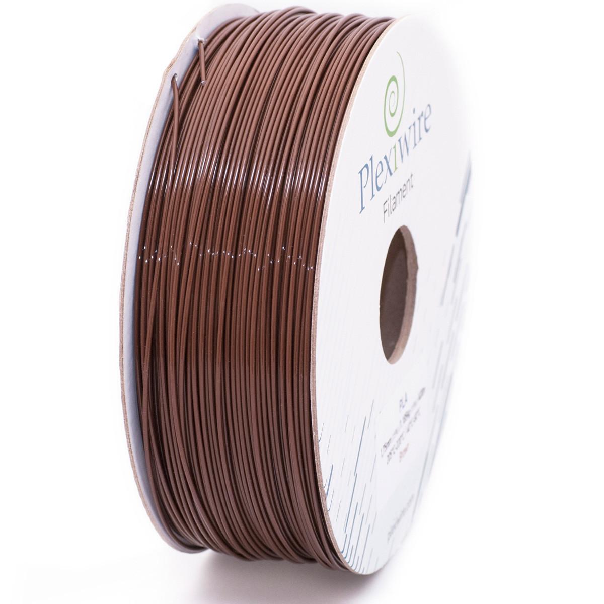 PLA пластик для 3D принтера 1,75мм (300м /0,9кг) коричневый