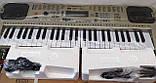 Детский орган синтезатор пианино MQ 807 USB mp3, микрофон, 54 клавиши, от сети, фото 9