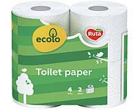Туалетний папір Ecolo