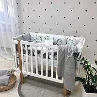 Детский постельный комплект Art Design Їжак, фото 1