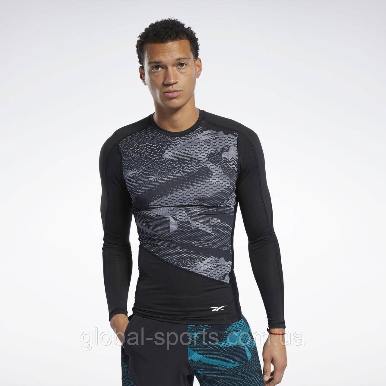 Мужская компрессионная футболка Reebok Graphic (Артикул: FJ4591)