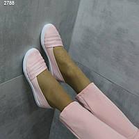 Рожеві літні жіночі балетки