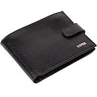 Мужское портмоне кожаное черное Butun 207-004-001, фото 1