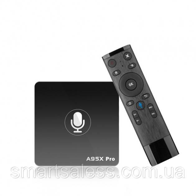 Приставка Смарт ТВ Nexbox A95X Pro 2/16 gb, Amlogic S905W, Wi-Fi