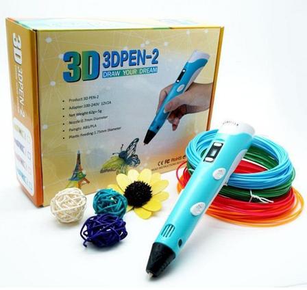 3Д 3D ручка с LCD Дисплеем 3D Pen-2, фото 2