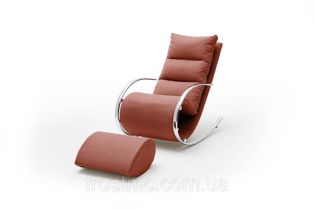 Крісло качалка YORK Chair Relax червоне