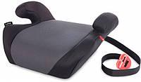 Бустер Lionelo LUUK BLACK по ходу движения, 2-3 группа, до 36 кг