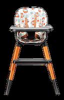 Стульчик для кормления 4-в-1 до 75 кг Lionelo MONA FLOWER, 5-точечные ремни