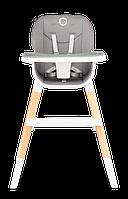 Стульчик для кормления 4-в-1 до 75 кг,  Lionelo MONA STONE, 5-точечныеремни безопасности