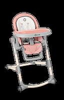Раскладной стульчик для кормления Lionelo CORA BUBBLEGUM с регулировкой спинки и подножки