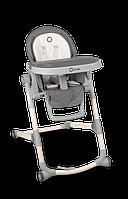 Раскладной стульчик для кормления до 15 кг Lionelo CORA STONE, с регулировкой высоты спинки и подножки