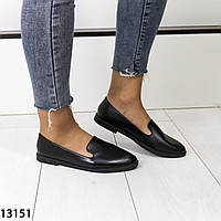 Черные женские туфли лодочки, фото 1