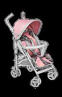 Прогулочная коляска трость Lionelo ELIA TROPICAL PINK, 6-36 месяцев