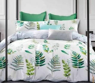 Комплект постельного белья Евро 200Х220 Сатин Хлопок 100% TL180367 Love You, фото 2