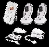 Беспроводная видеоняня с 2 камерами Lionelo BABYLINE 5.1, Польша, Белый