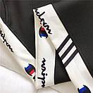 Женские спортивные штаны джоггеры на резинке с лампасами 68bu529, фото 4