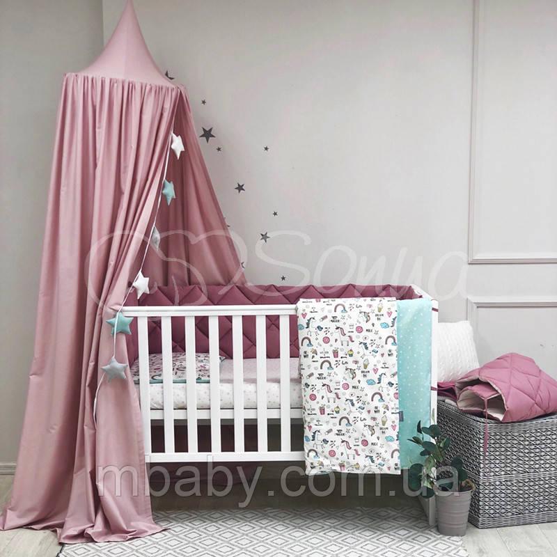 Детский постельный комплект Baby Mix Единорог