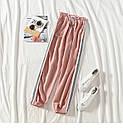 Женские спортивные штаны джоггеры на резинке и со шнурком (р. единый 42-44) 77bu531, фото 2