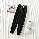 Женские спортивные штаны джоггеры на резинке и со шнурком (р. единый 42-44) 77bu531, фото 3
